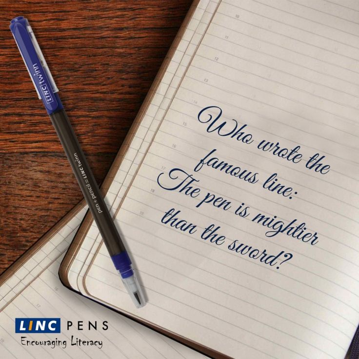 Can you name the writer? #GuessTheName #LincPens #Pens #LincTwinn