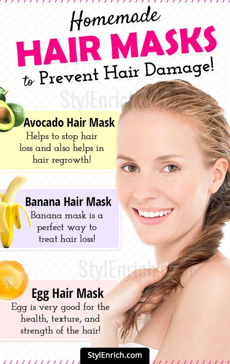 DIY Hair Masks For Broken Hair & Forestall Hair Loss!