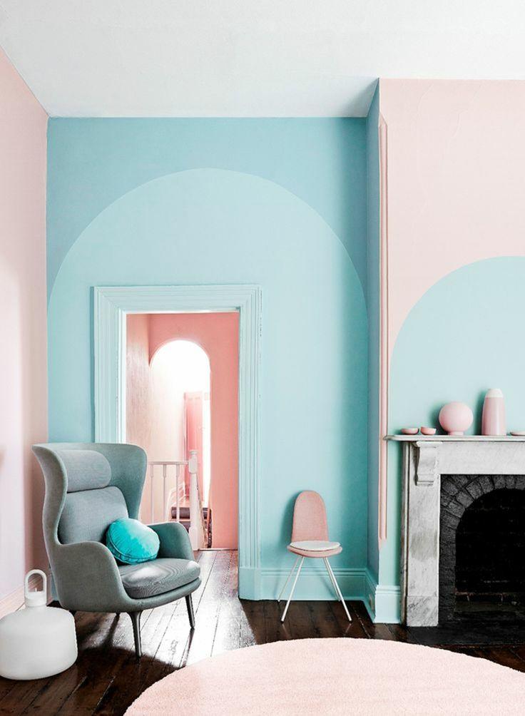 Wir Haben Darunter 6 Wohntrends Aufgelistet, Die Das Moderne Innendesign  Prägen. Wohnungseinrichtung Ideen In Den Aktuellen Farben. Muster Und ...