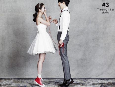 <私たち結婚しました>❤ミニドレスのウェディングフォト|韓国ウェディングフォト❤N Wedding Photo