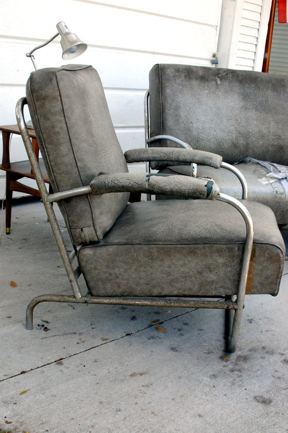 Restoration Project Vintage Industrial Kem Weber Furniture By  Thecopperlantana, $1000.00