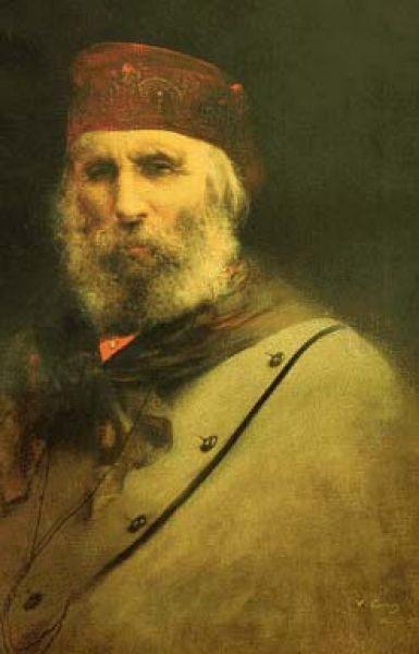 Vittorio Corcos, Ritratto di Giuseppe Garibaldi, 1882, Museo Civico G. Fattori.