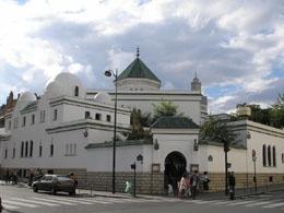 Paris Mosque (and tea room entrance)