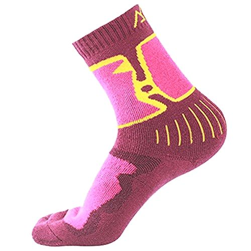 Kalily Women's Winter Warm MERINO WOOL Socks - Pack of 3 Pairs () Made by #Kalily Color #Multi. Brand new range of themal Merino Wool Socks. Soft, warm, breathable and Super Comfort. Reinforced Toe and Heel with arch support. Mid-weight to Heavy socks. Flap for Anti-Slip & Easy Pull Up - Stops socks slipping down and offers finger grip. Ease your foot fatigue when walking, hiking, camping, running or jogging