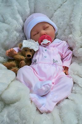 STUNNING REBORN LIFELIKE BABY GIRL SPANISH OUTFIT FULL LIMBS 024