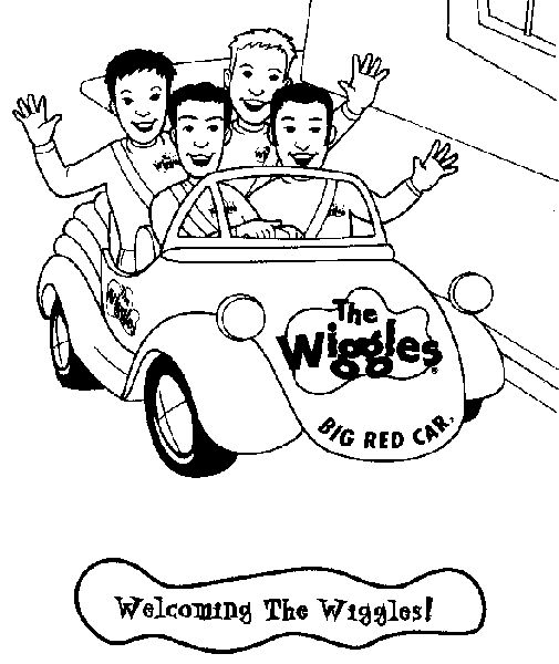 Wiggles Coloring Pages For Kids and Friends. Print and ...
