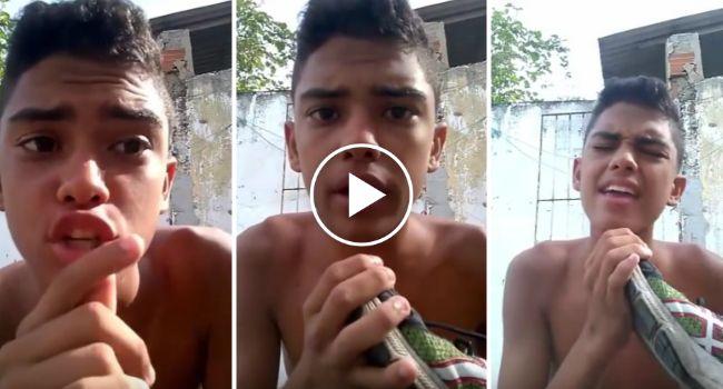 Portão Arruína Vídeo De Jovem Que Tenta Ensinar Como Se Canta Em Inglês
