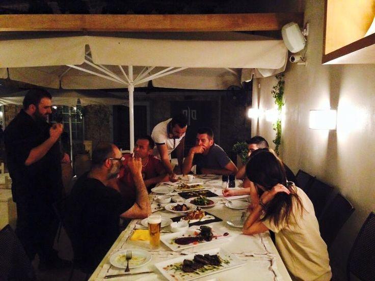 Here, we are all a big company! #SeenAtAlana #Rethymno #AlanaRestaurant