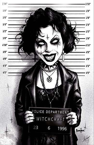 Nancy By Marcus Jones Downs The Craft Mugshot Punk Canvas