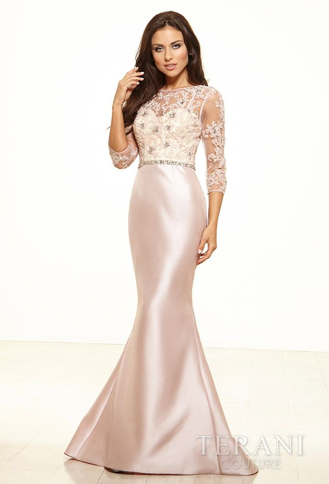 Evening dress embellished 3 4