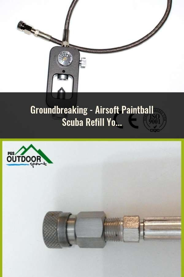 Airsoft Paintball Scuba Refill Yoke Station for Filling Air Tanks