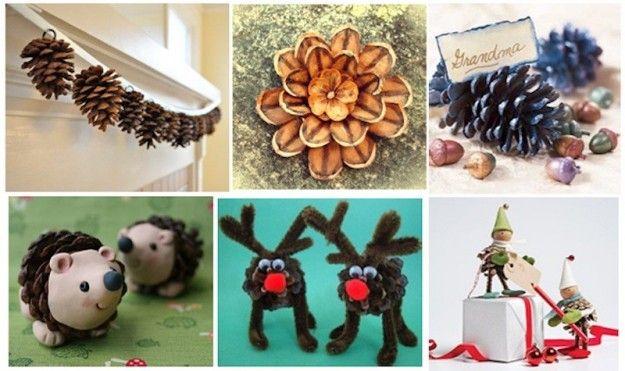 Lavori creativi per Natale con le pigne [FOTO]