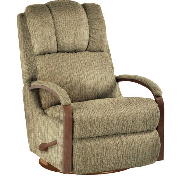 The Harbor Town Rocker Recliner Is Truly One Of A Kind It S Sleek Frame Decorative Padded Show Wood Arms And P Rocker Recliners Recliner Sale Swivel Recliner