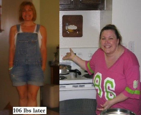 106 lbs Later.  Determined to WIN!