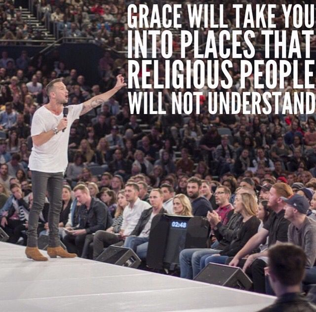 GRACE - Too good to be true  Preacher styles  Carl Lentz