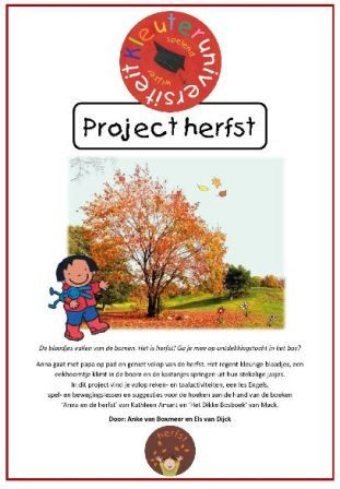 thema herfst kleuters project