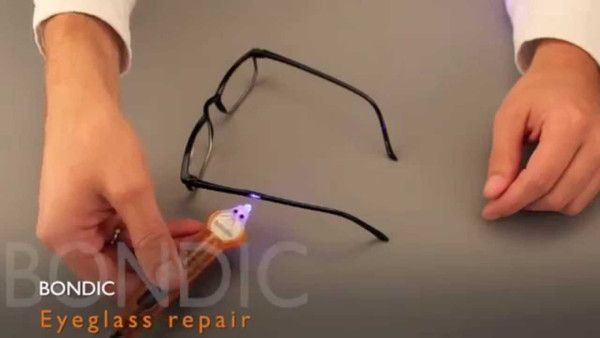 Liquid plastic welding kit, perfect if there is an accident with the glasses