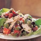 Chicken Salad with Tomatoes, Black Beans and CilantroFood Chicken, Chicken Breasts, Cilantro Recipe, Black Beans, Chicken Salads, Lime Juice, Vegan Salad, Chicken Salad Recipes, Recipe Chicken