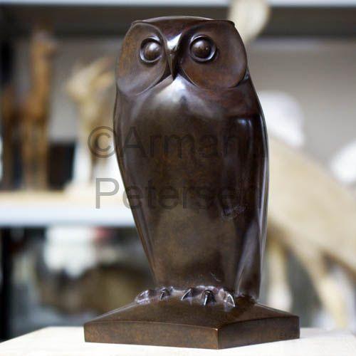 Armand Petersen (1891-1969) - Chouette