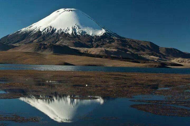 Cile, Vulcano Villaricca presso la Svizzera Cilena
