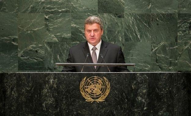 Ύμνους στην «Μακεδονία» από τον σκοπιανό πρόεδρο μέσα στον ΟΗΕ-Μούγγα από τον Τσίπρα.Τι να έλεγε άλλωστε;Γνωστές οι τοποθετήσεις αυτού και της κυβέρνησης του.
