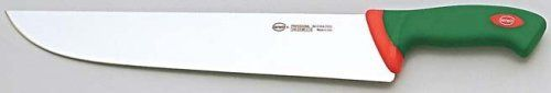Sanelli 100633 Premana Professional 13 Inch Butchers Knife by Sanelli. $91.34. Resistant hardness (54-56 HRC). Long edge life. Good flexibility. High cutting power. Edge shape especially designed for professional use. Blades Resistant hardness (54-56 HRC). Good flexibility. High cutting power. Long edge life. Edge shape especially designed for professional use. Excellent sharpening potential. Handles The exclusive ergonomic handle design is the result of special s...