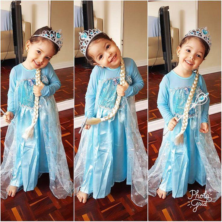Para mi no existe una Elsa mas bella que esta!!!! Mi princesa hermosa ayer en su cumple 3 ���������� #elsa #frozen http://misstagram.com/ipost/1565329617443025296/?code=BW5Kv5cFvGQ
