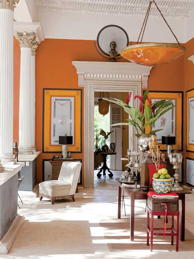 one of the prettiest haciendas in mexico interior deign and home decor inspired by latin - American Home Decorations