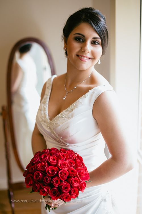 Red Rose Flower Bouquet Marcel Van der Horst Photographer. Melbourne Wedding Photography