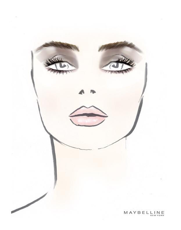 Richard Chai's Maybelline Makeup Sketch