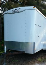 7'x14' 2010 Haulmark Enclosed Utility Lawn Motorcycle ATV Camping Cargo Trailer heavy equipment trailers apply now www.bncfin.com/apply