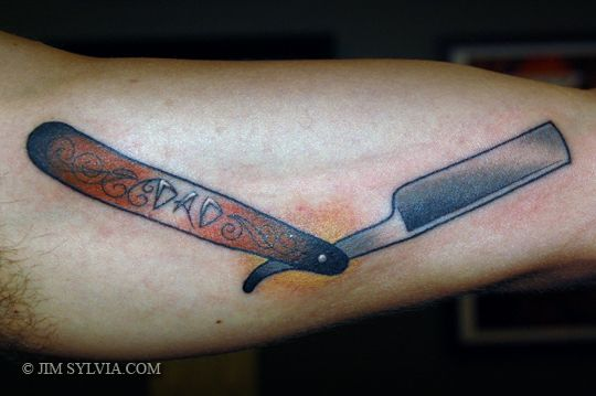 1145 best images about tattoos on pinterest scissors for Straight razor tattoo designs