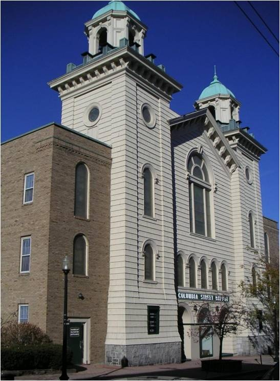 Columbia Street Baptist Church  Bangor, Maine