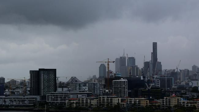 Huge deluge as thunderstorms hit  As the worst of the storm passed Brisbane, Chandler, south of the city, had received 77mm of rain in the hour to 4.45pm - 58mm of that fell in just 30 minutes. #brisbanecitycouncil