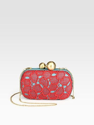I am so in love with this clutch! Santa?Bags Heavens, Lace Boxes, Boxes Clutches, Diane Von Furstenberg, Bags Lady, Bags Clutches Purses, Haute Handbags, Furstenberg Lace, Accessorizing
