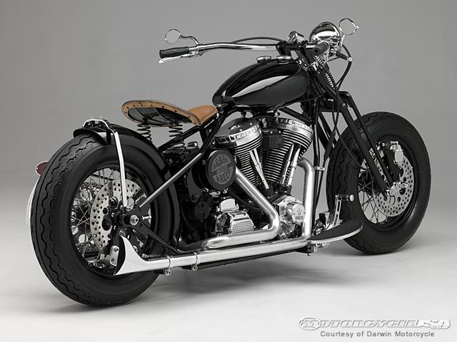 Darwin Motorcycles the builder of Brass Balls Bobbers   Choppers has received the 2009 V-Twin Bobber of the Year award at the V-Twin Expo.