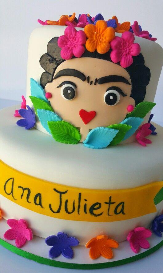 Frida Kahlo Cake Wonder Cakes By Yasmin Pinterest