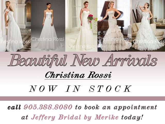 Beautiful new arrivals from #ChristinaRossi !