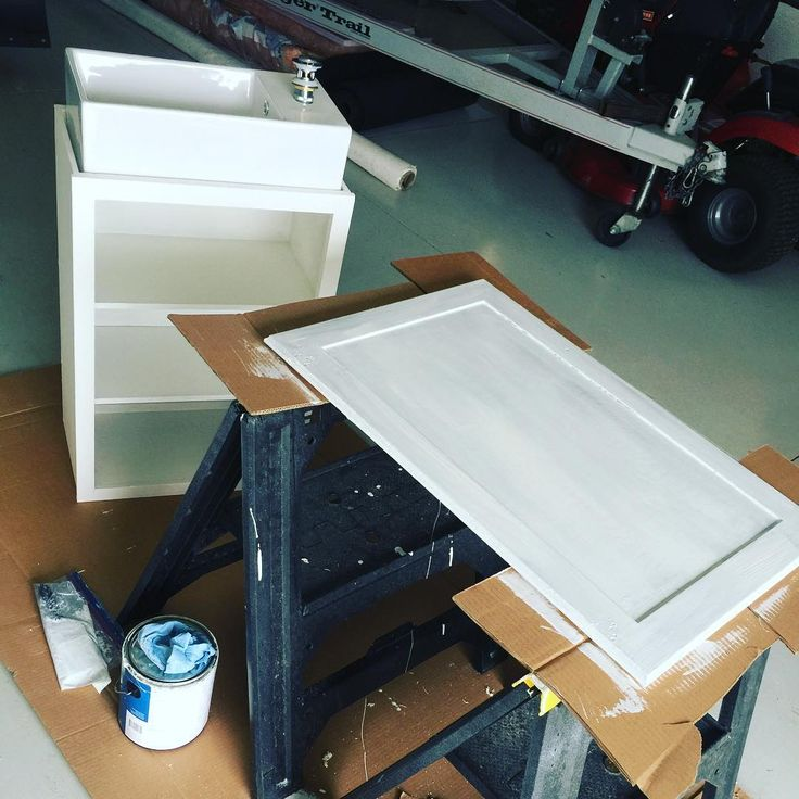 Another coat of matte #white #paint and I do say this cabinet will be ready. Ahh have to measure and drill some holes for the #plumbing that will run through it. Love this little sink. #tinystructuresinc #tiny #structure #design #tankhouse #seanbuildsstuff #tinyhouseliving #tinyhousenation #tinyhousemovement #tinyhome #tinyliving #tinyhousebuilder #tinyhouse #custom #built #fun #diy #tinyhomes #tinylife #construction #builder #building #offgrid #interiordesign #cabinets