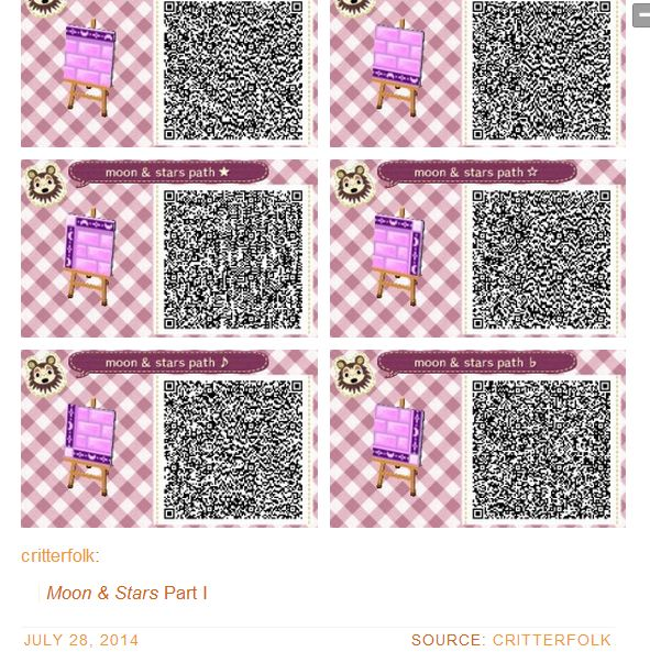 301 Best Path Qr Codes For Animal Crossing New Leaf Images