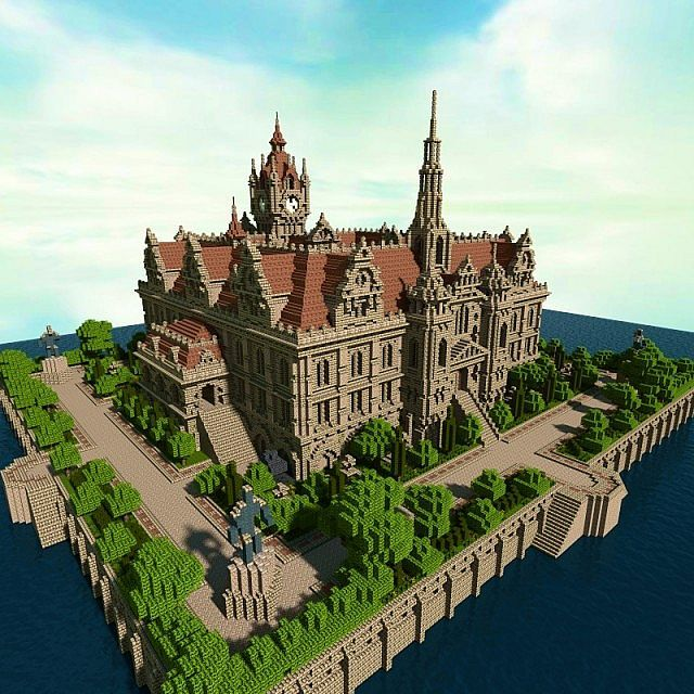 Renaissance Palace minecraft building ideas 2