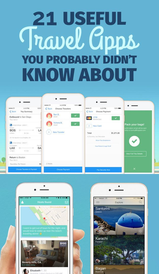 View this image › Alice Mongkongliite / BuzzFeed SUMMER IS COMING !! If you've already combed through tried-and-true travel websites like Hipmunk, Airbnb, and Lonely Planet, try one of these legit amazing, lesser-known apps before you set your next itinerary in stone. (Let us know if we left...