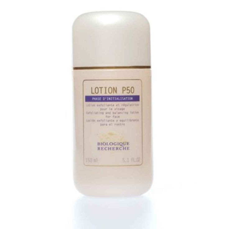 Biologique Recherche Lotion P50 has made a difference in helping minimize discolourations and breakouts.
