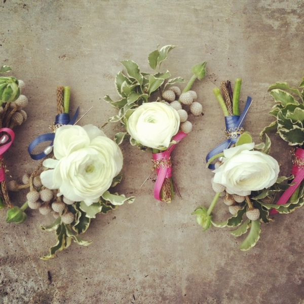 Para as damas de honra: Diy Flowers, Body Flowers, Groomsmen Wedding, Awesome Boutonnieres, Preppy Boutonnieres, Flower Wedding, Floral, Boutonniere Groom