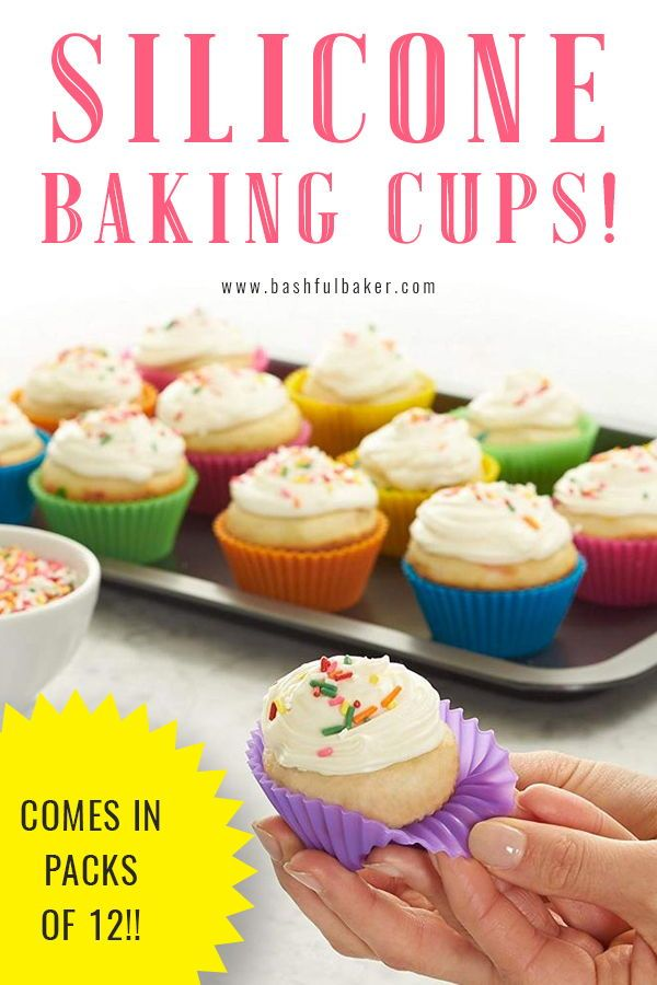 Silicone Baking Cups Pack Of 12 With Images Silicone Baking