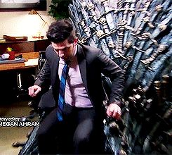 "He earned his seat on the Iron Throne. | 18 Reasons Ben Wyatt From ""Parks And Rec"" Is The Most Accurate Nerd On TV"