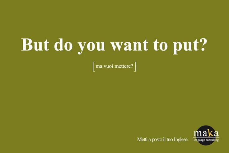 #copywriter Maka   Scuola d'Inglese a Milano   Copy writer: Maka. Lenguage consulting. But do you want to put? [ma vuoi… #copywriting
