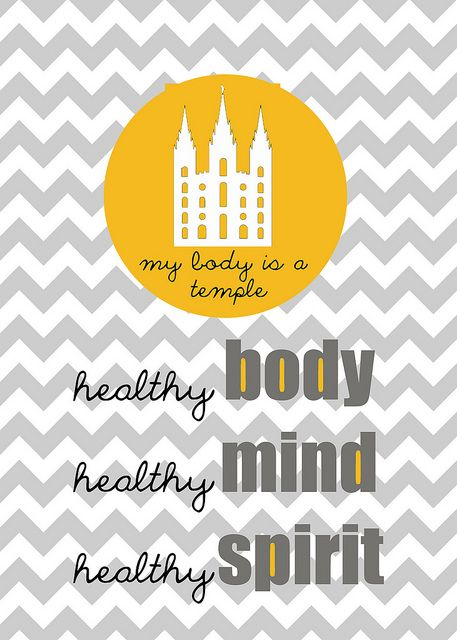 Our 2013-2014 family theme.  My Body is a Temple: Healthy body, healthy mind, healthy spirit.
