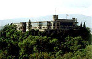 Batalla en el castillo de chapultepec Invasión de la tropa Estadounidense al castillo de Chapultepec donde