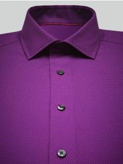 Honeycomb purple shirt - Duchamp